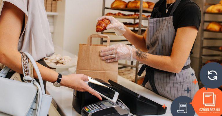Online pénztárgép - számlák adatszolgáltatása a NAV felé