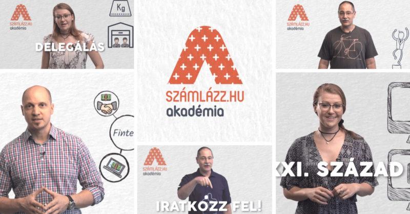 Számlázz.hu Akadémia – indul az első évad!
