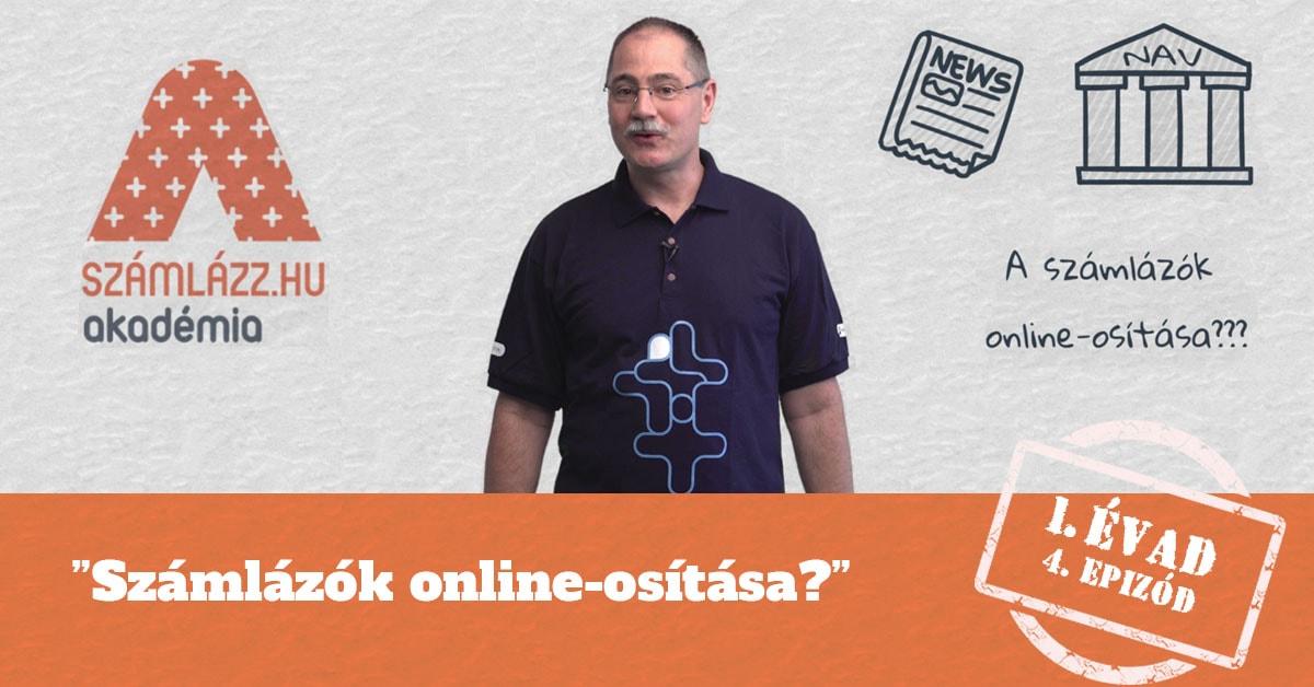 """""""Számlázók online-osítása? - Számlázz.hu Akadémia, I. évad, 4. epizód"""
