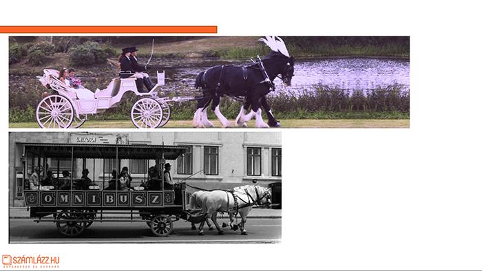 Közlekedés régen