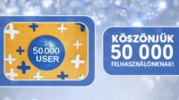 50 000 Számlázz.hu-user