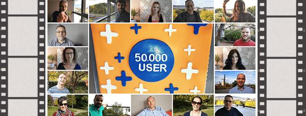 50000 felhasználó