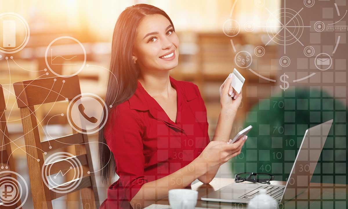 Nő online fizetés