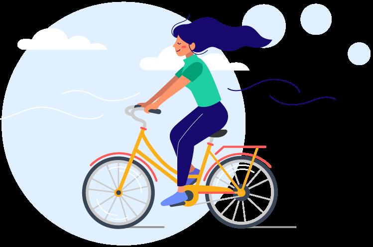 Biciklis nyereményjáték