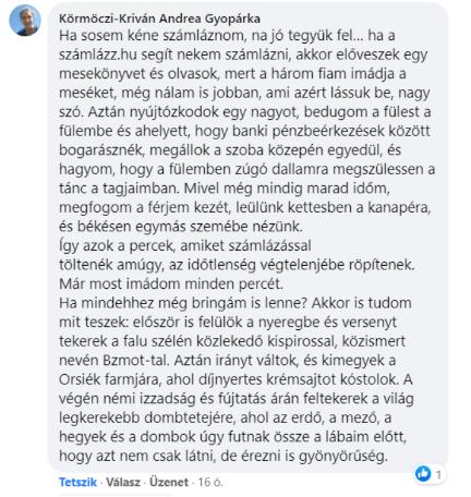 Kömörczi-Kriván Andrea Gyopárka